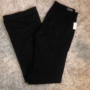 Citizens of Humanity High Rise Wide Leg in Black